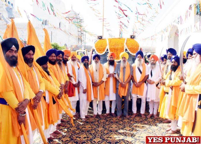 Nagar Kirtan Dhamtan Sahib Guru Tegh Bahadur Sahib