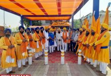 Nagar Kirtan dedicated Gurdwara Majnu Ka Tilla Delhi