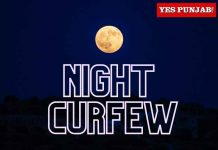 Night Curfew Moon
