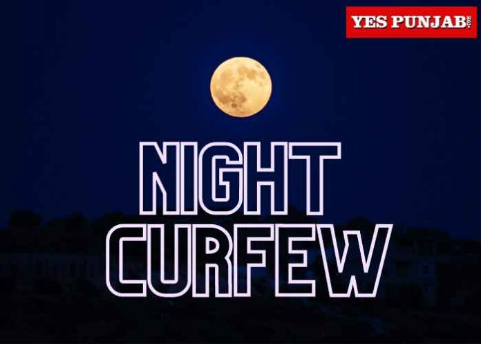 Night Curfew Moon