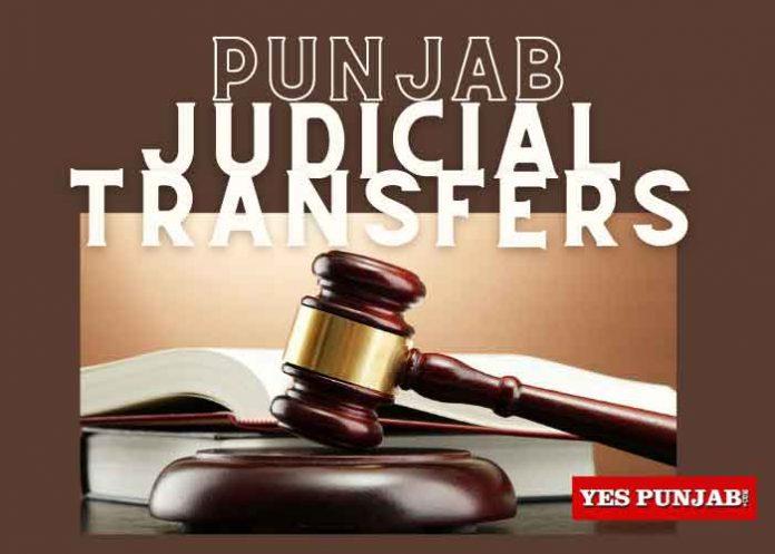 Punjab Judicial Transfers
