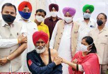 Rana Gurjeet Singh visit Vaccination Camps