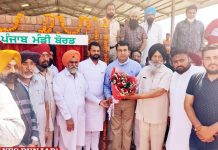 Sandeep Sandhu and Dakha inaugurate shed built Jagraon