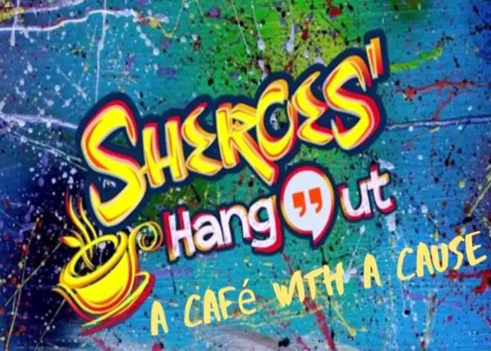 Sherces Hang out A Cafe with A Cause logo