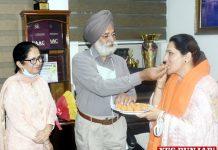 Surinder Kaur joins Khalsa College Women Amritsar