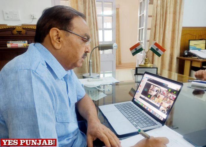 Chander Gaind online meeting