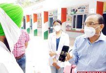 Chander Gaind visit Daun Kalan Village