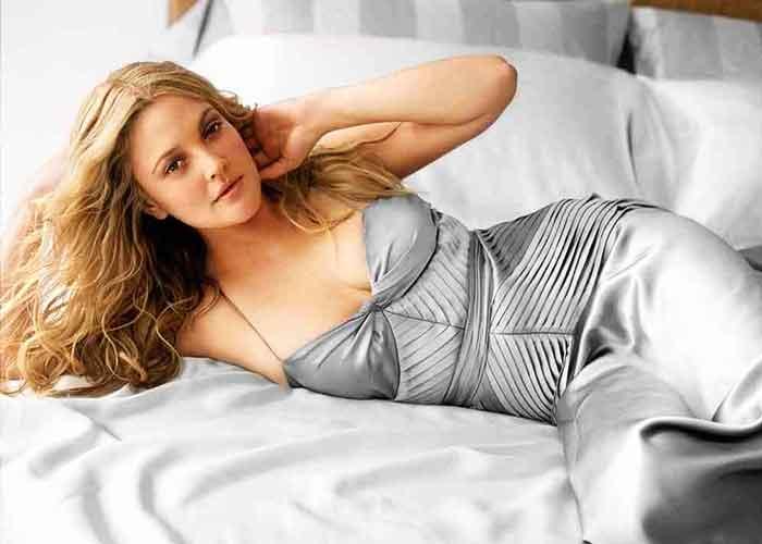 Drew Barrymore goes