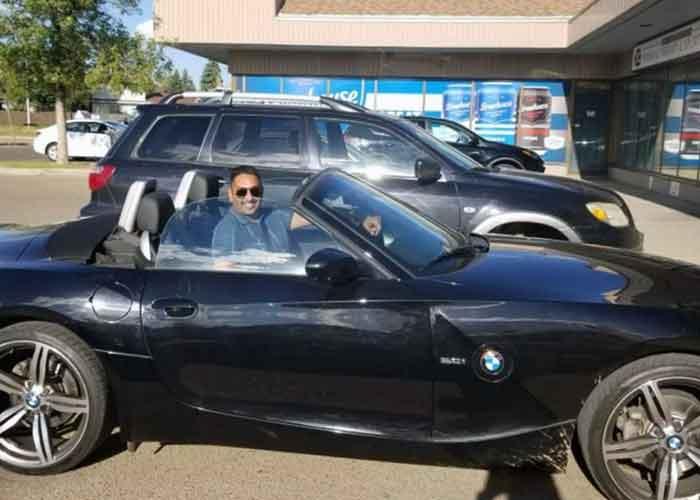 Gamdur Brar in car