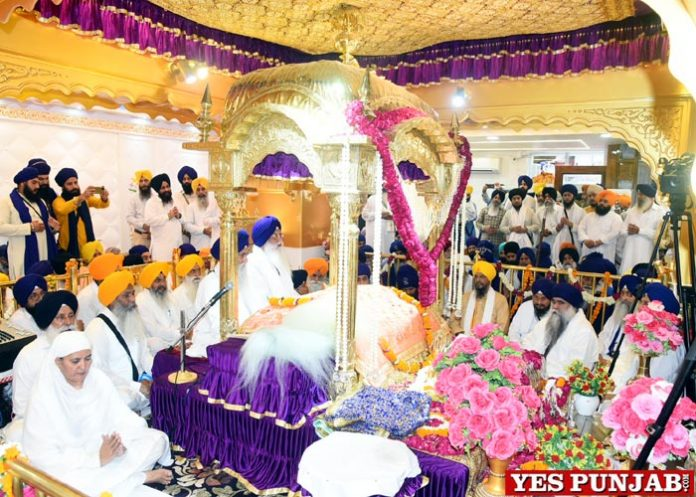 Gurdwara Manji Sahib Diwan hall