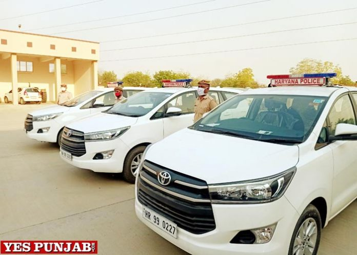 Haryana Police help COVID patients
