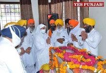 Jagir Kaur condolences to Joginder Singh Vedanti