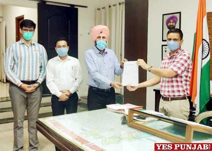 Jalandhar Admin provide Oxygen Concentrators