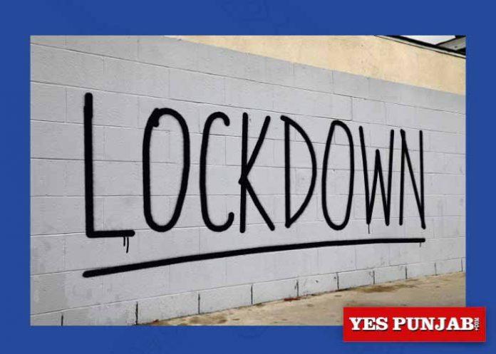 Lockdown Wall Writing