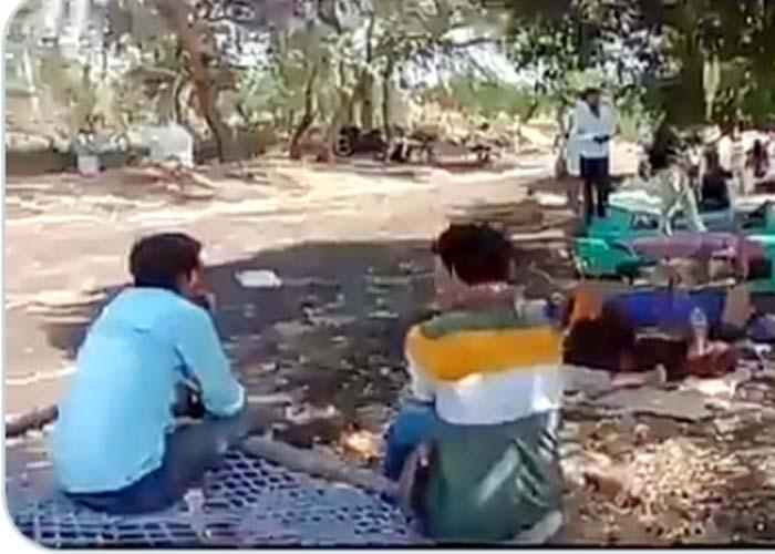 Madhya Pradesh Patients in fields