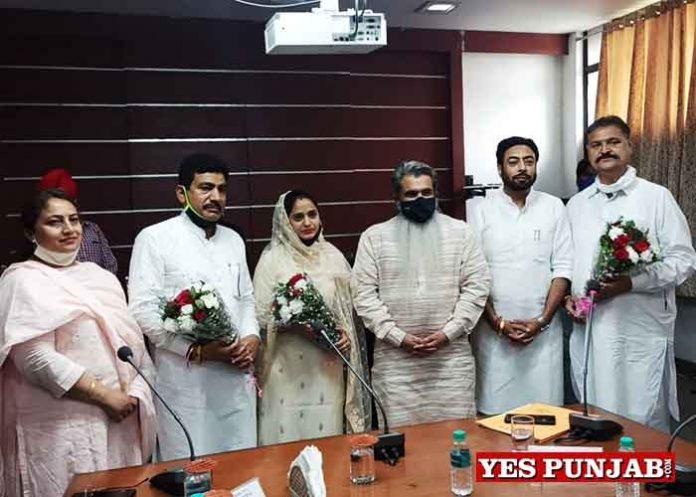 Nitika Bhalla become Moga MC Mayor