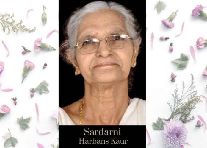 Sardarni Harbans Kaur