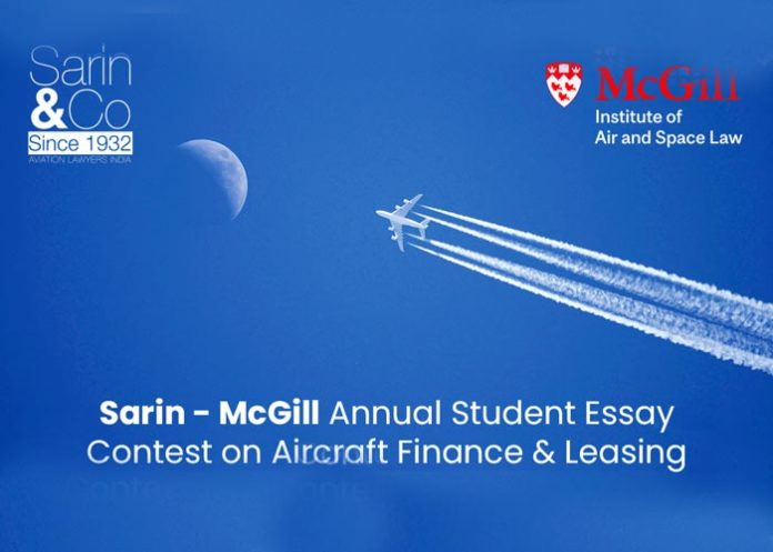 Sarin McGill Aircraft Finan