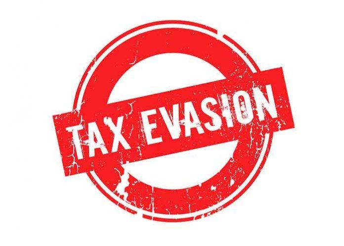 Tax Evasion Stamp