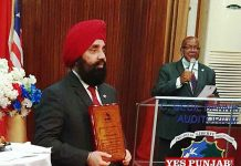 Upjit Sachdeva honoured by Liberia Govt 1