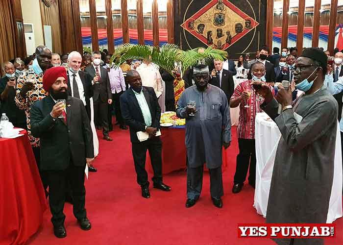 Upjit Sachdeva honoured by Liberia Govt 2