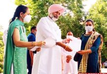 Balbir Sidhu Appointment Letters Upvaids Int Yoga Day