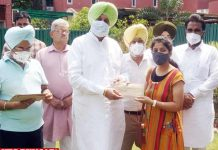 Balbir Sidhu issues Appointment Letters Pharmacy officers