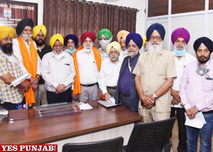 Chief Khalsa Dewan appoints Dr Sarabjit Singh Chhina Santokh Singh Sethi