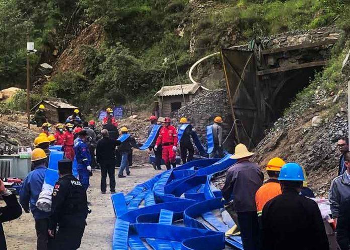 China Shanxi iron mine accident