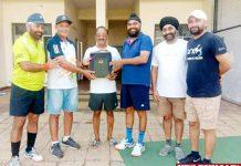Coach Rajinder Sharma honored for promoting Hockey