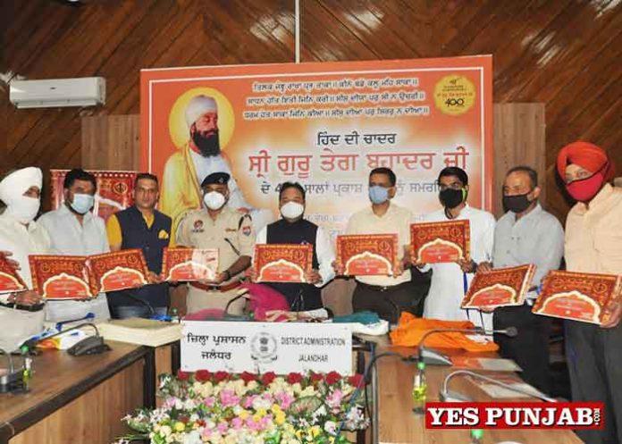 Coffee Table Book on journey of Guru Tegh Bahadur