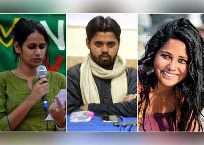 Devangana Kalita Natasha Narwal Asif Iqbal Tanha
