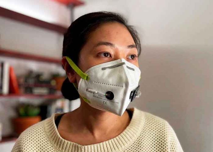 Face mask that detects Covid