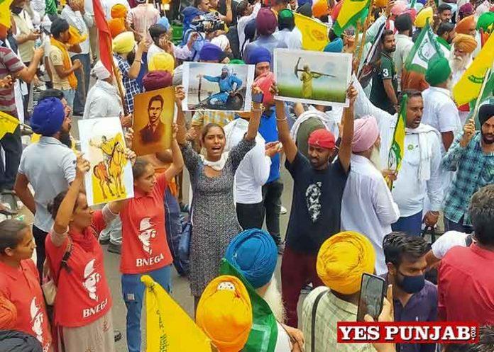Farmers march towards Chandigarh 1