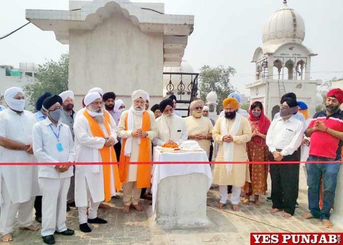 Gurdwara Rajouri Garden launched Solar System