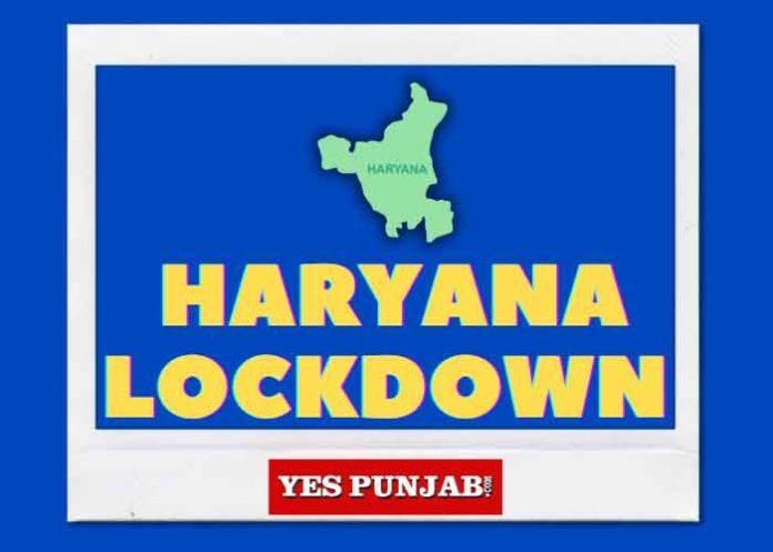 Haryana Lockdown Yes Punjab