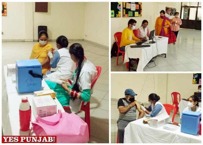 Innocent Hearts organizes Free COVID Vaccination Camp