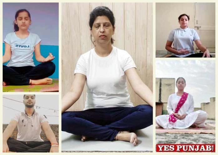 Innocent Hearts organizes Yoga Session Intl Yoga Day