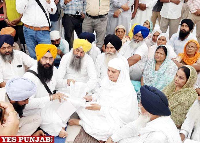 Jagir Kaur visits Jaulian Gurdwara Sahib