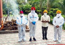 Jalandhar Admin performs last rites of COVID victim