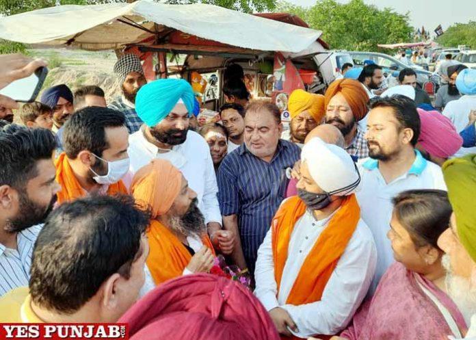 Jarnail Singh meet Randeep Sodhi Fatehgarh Sahib