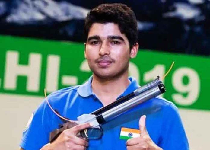 Saurabh Chaudhary Air Pistol
