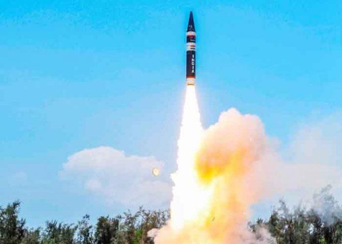 Agni P Ballistic Missile