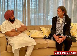 Amarinder meet German envoy Walter J Lindner