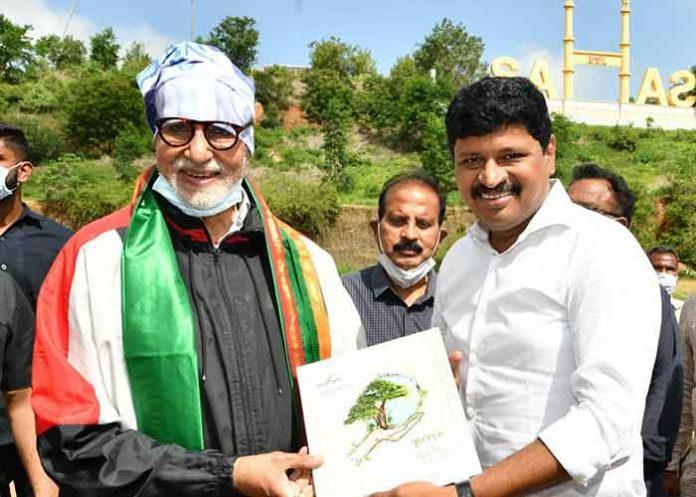 AmitabhBachchan Green India Challenge