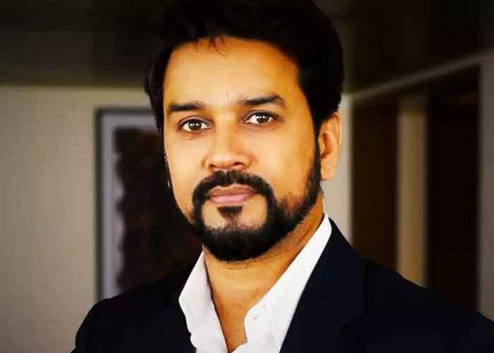 Anurag Thakur work
