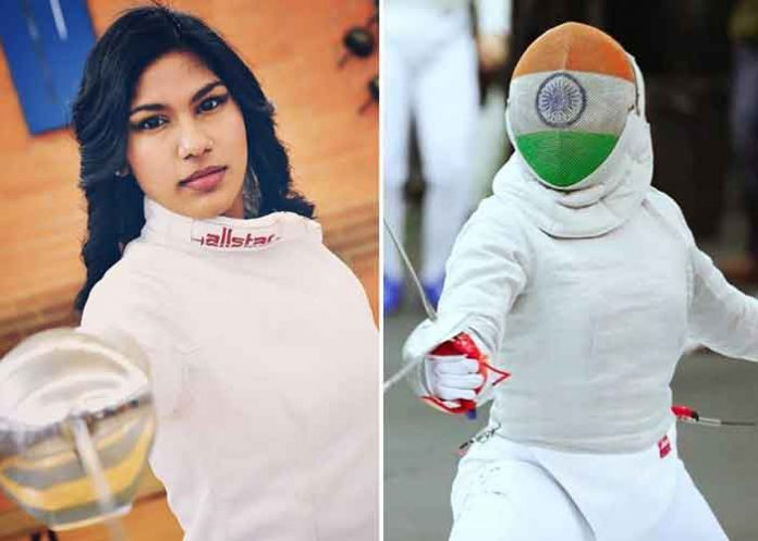 Bhavani Devi Fencer