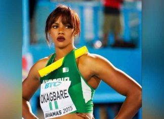 Blessing Okagbare Nigerian Sprinter