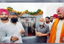 Brahm Mahindra lays foundation stone