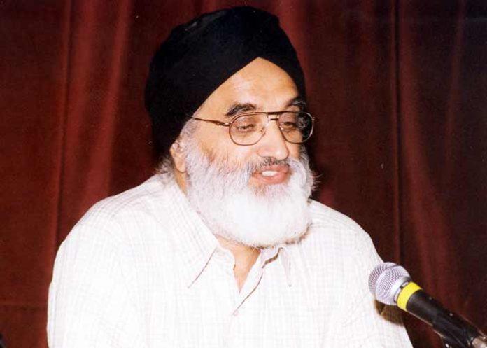 Dr Darshan Singh Tatla
